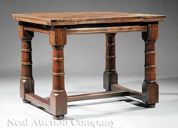 0019: Continental Oak Dining Table