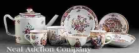 0684 Famille Rose Porcelain Table Articles