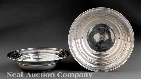 0700: Tiffany Sterling Silver Vegetable Dishes