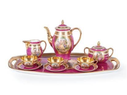 Czech Porcelain Coffee Service