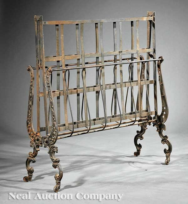 0433: French Cast Iron Campaign Bed - 2