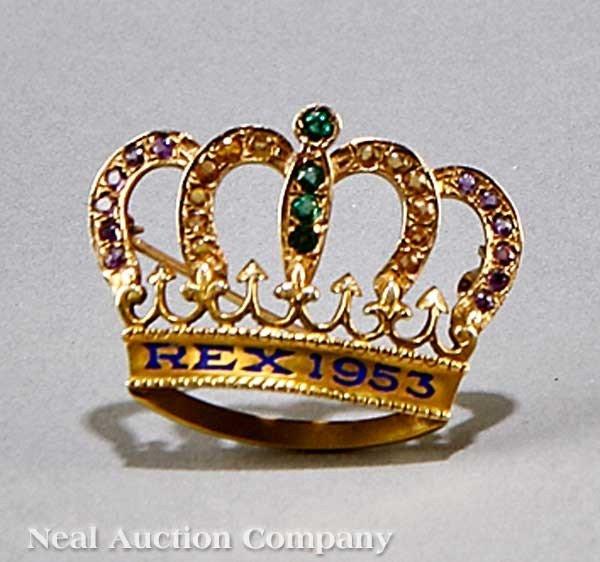 0582: Charles C. Crawford's Rex King's Pin