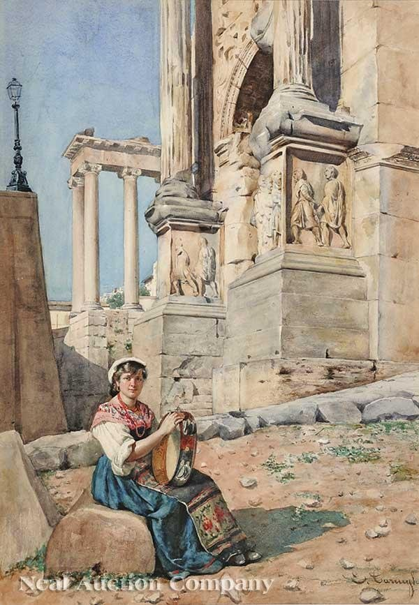 0626: Enrico Tarenghi (Italian, 1848-1938)