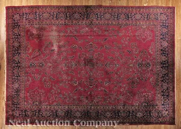 0628: Large Sarouk Carpet