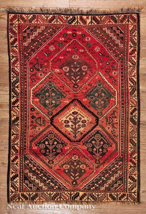 0635: Semi-Antique Kashkai Tribal Rug