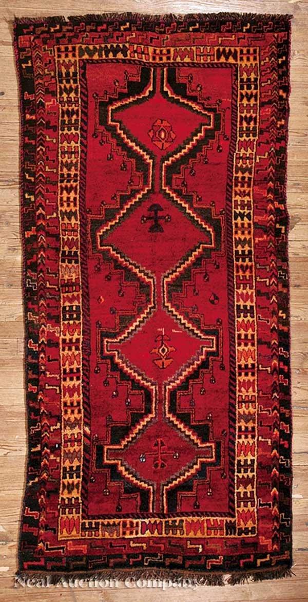 0636: Semi-Antique Kashkai Tribal Rug