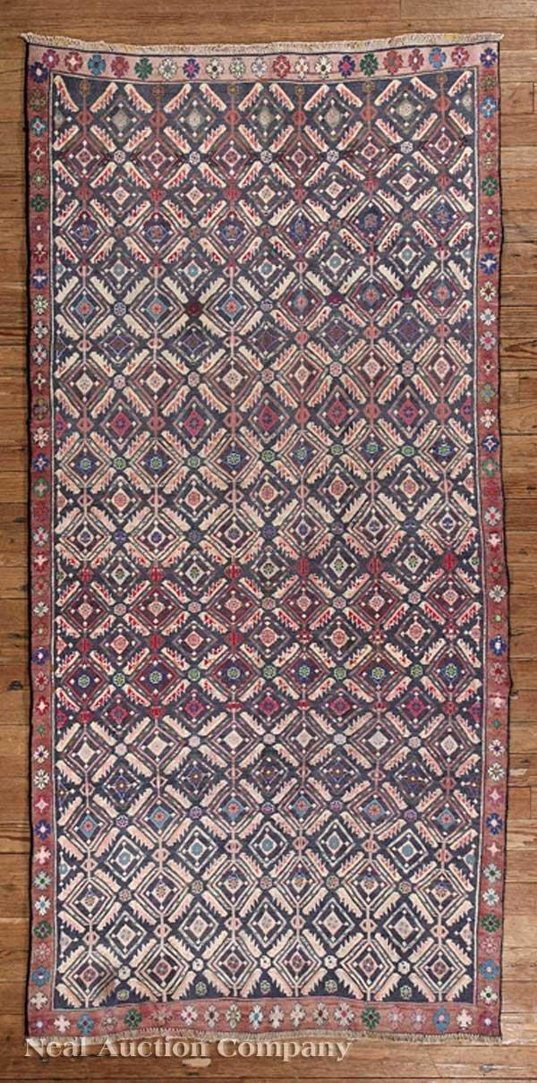 0637: Persian Varamin Carpet