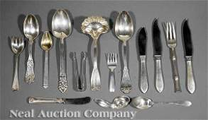 0653: Group of Tiffany Sterling Silver Flatware