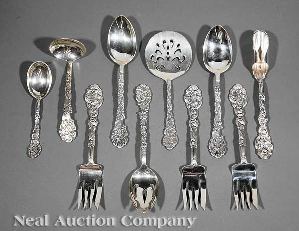 0654: Gorham Sterling Silver Serving Pieces