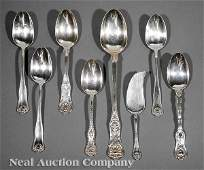 0659 Antique American Sterling Silver Serving Pieces