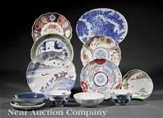 0862: Japanese Imari and Arita Porcelain Table Articles