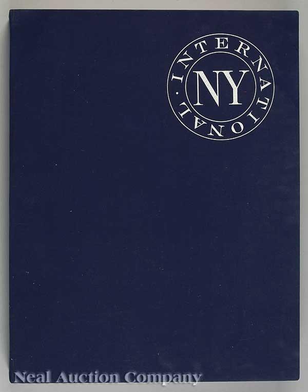 0450: NY Internatioanl Portfolio of Contemporary Prints