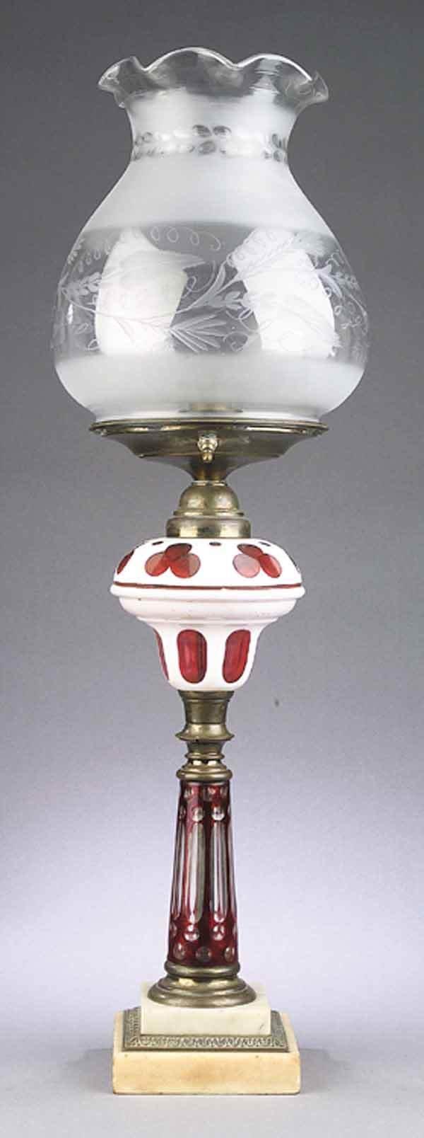0266: New England Cranberry Etc. Solar Lamp