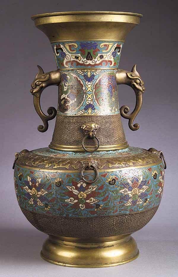 0280: An Antique Chinese Cloisonne Vase