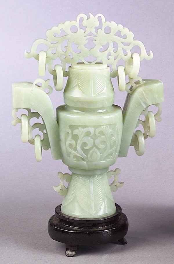 0283: A Jade Lidded Urn
