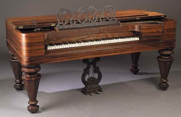 0930: American Rosewood Square Grand Piano