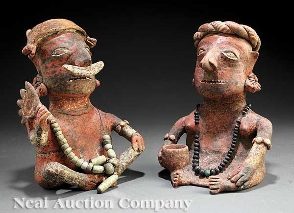0698: Pre-Columbian Pottery Couple