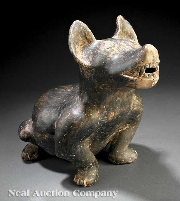 0699: Very Large Pre-Columbian Pottery Dog
