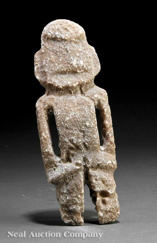 0703: Pre-Columbian Carved Stone Figure