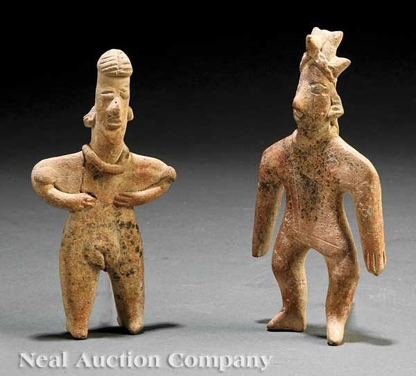 0704: Two Pre-Columbian Pottery Figures