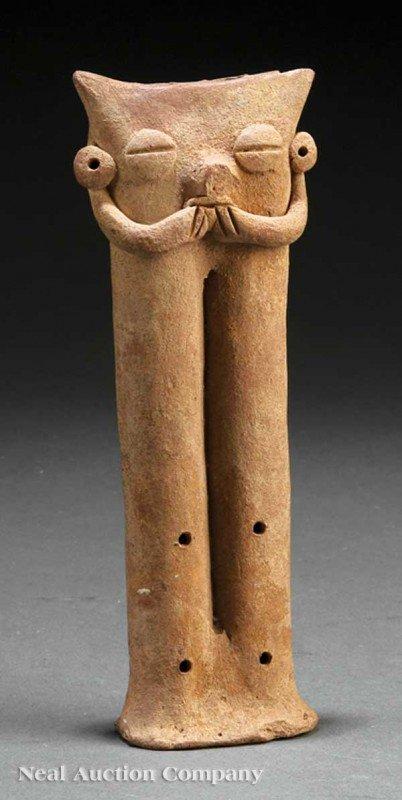 0705: Pre-Columbian Pottery Flute