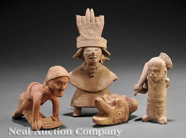 0706: Group of Pre-Columbian Pottery