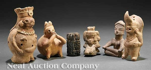 0707: Group of Pre-Columbian Pottery