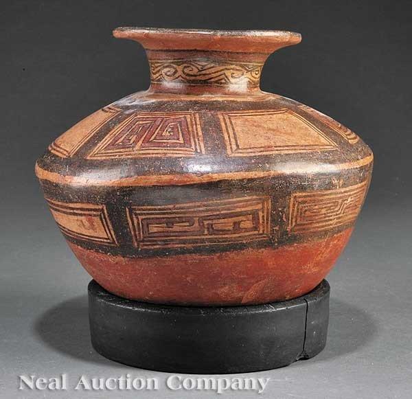 0710: Pre-Columbian Pottery Vessel