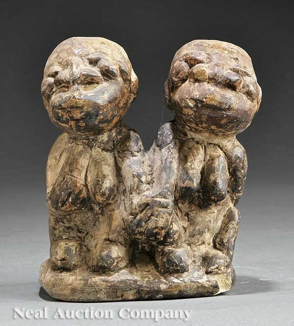 0676: Sierra Leone Carved Stone Nomoli or Pomdo Group
