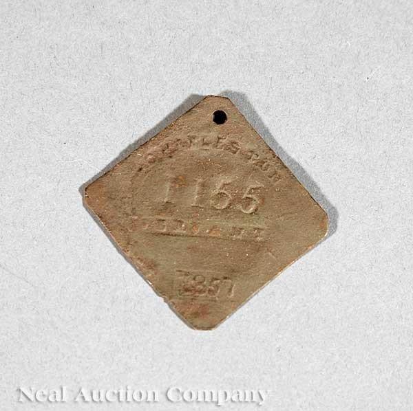 0686: American Slave Tag