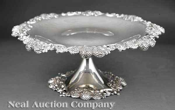 0799: Tiffany and Co. Sterling Silver Dessert Stand