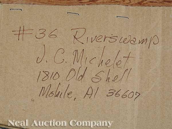 0947: J.C. Michelet (American/Alabama, 20th c.) - 2