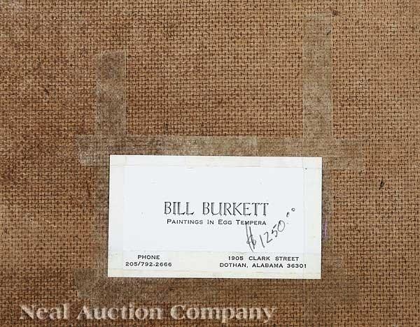 0976: Bill Burkett (American/Alabama, 20th c.) - 2