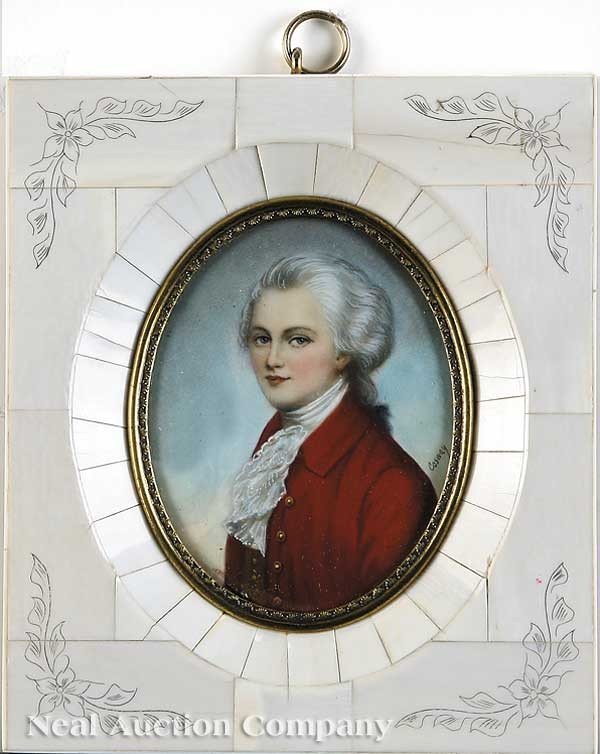 0008: Attributed to Richard Cosway (English, 1742-1821)