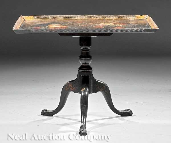0001: English Tilt-Top Tea Table