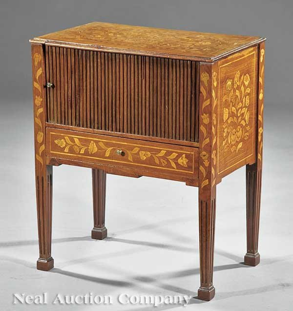 0003: Dutch Marquetry Commode