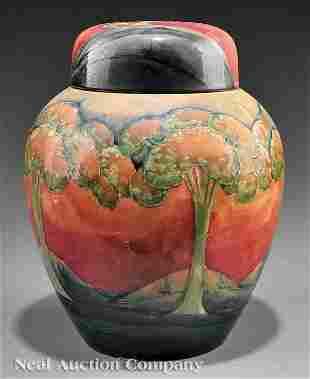 "0358: William Moorcroft ""Eventide"" Art Pottery Vase"