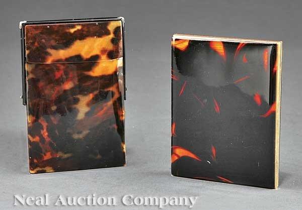 0679: Antique Tortoiseshell Card Case