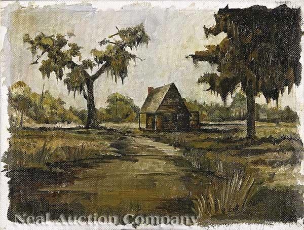 0912: George Rodrigue (American/Louisiana, b. 1944)