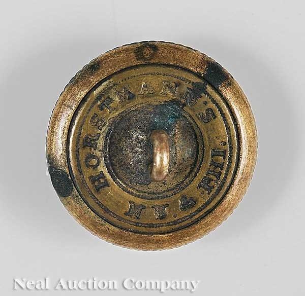 0942: Louisiana State Militia Button, ret. Horstmann - 2
