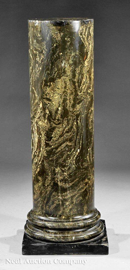 0010: AnNeoclassical Scagliola Pedestal