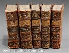 0776: Le Theatre de T. Corneille, 1740,5 volumes