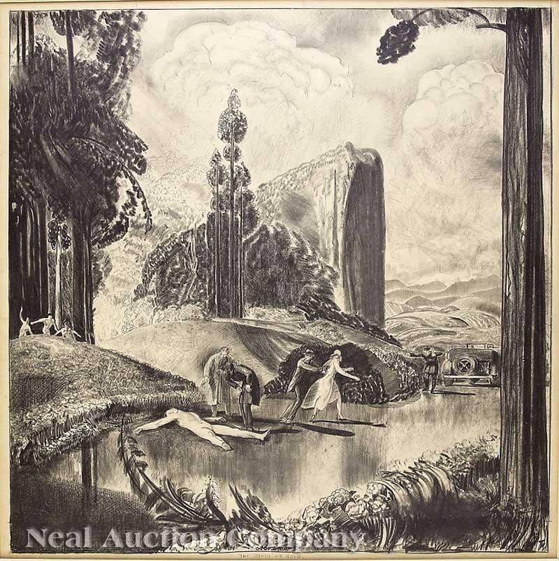 0008: George Wesley Bellows (American, 1882-1925)