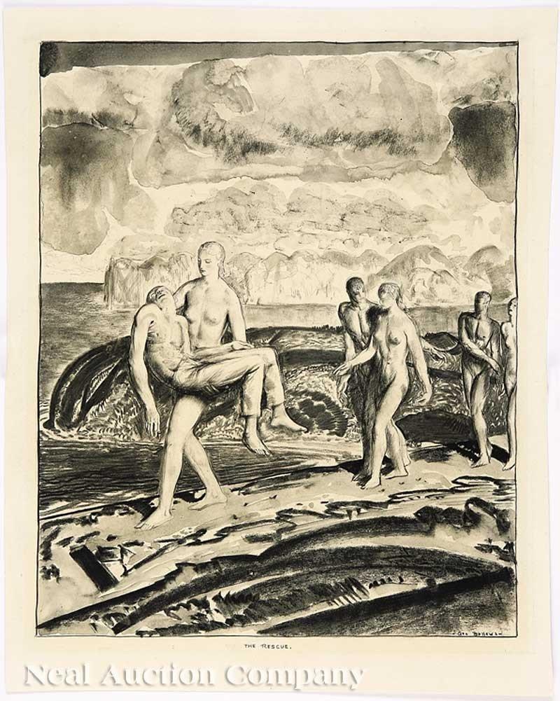 0010: George Wesley Bellows (American, 1882-1925)