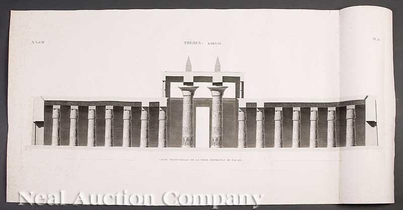 0017: Egyptian Views 16 engravings