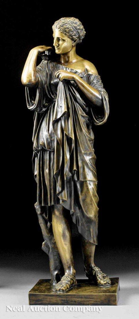 "0022: Italian Bronze of ""The Diana from Gabii"""