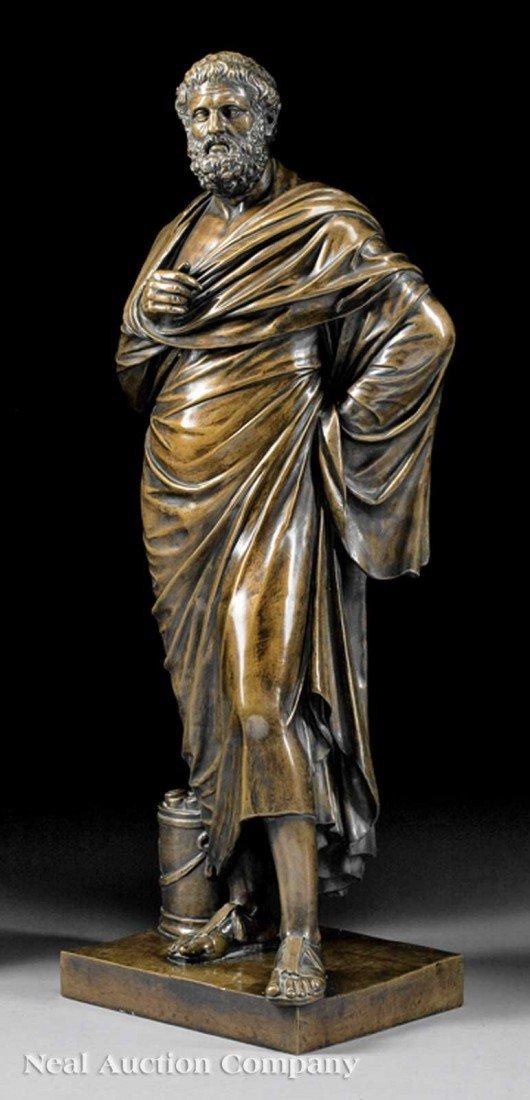 """0023: Italian Bronze of """"Aristides (or Aeschines)"""""""