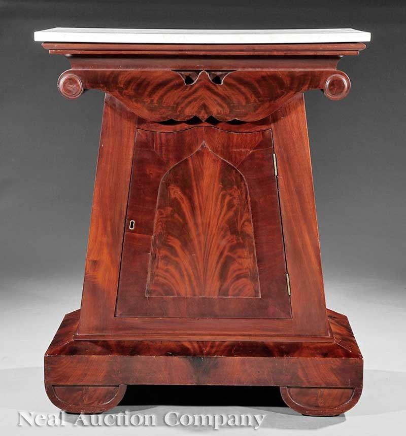 0031: American Classical Mahogany Mixing Table
