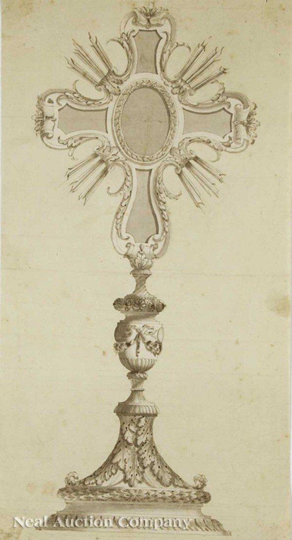 0032: Attributed to Luigi Valadier I (Italian 1726-1785