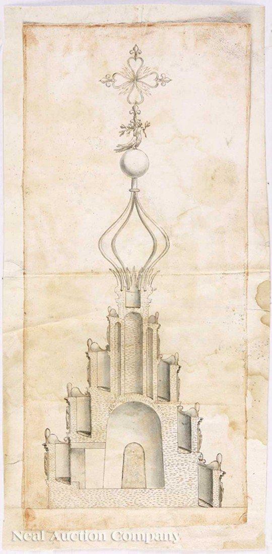 0037: Francesco Borromini, his Studio, or a Follower